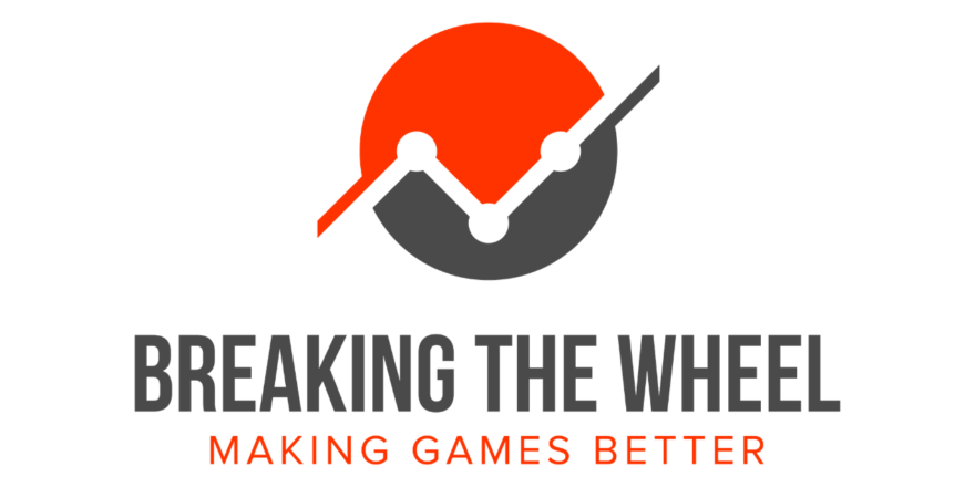 Full-sized, captioned logo for Breaking The Wheel